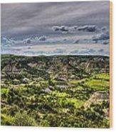 The Badlands Wood Print