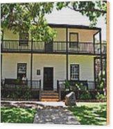 The Baldwin House In Lahaina I Wood Print
