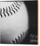 The Ball Wood Print