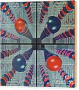 The Balls Wood Print
