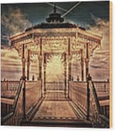 The Bandstand Wood Print