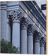 The Bank Of California Wood Print