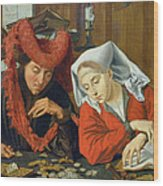 The Banker And His Wife Wood Print