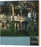 The Banyan House Resort In Key West Wood Print