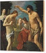 The Baptism Of Christ Wood Print
