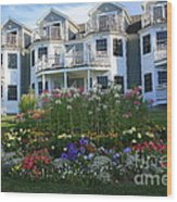 The Bar Harbor Inn - Maine Wood Print