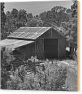The Barn 2 Wood Print