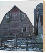 The Barn 3 Wood Print
