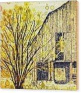 The Barn Where... Wood Print
