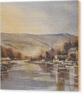 The Barrow At Saint Mullins Wood Print