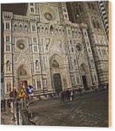 The Basilica Di Santa Maria Del Fiore  Wood Print