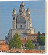 The Basilica Di Santa Maria Della Salute Wood Print