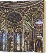 The Basilica Of St. Josaphat Wood Print