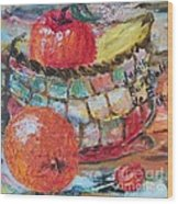 The Basket - Sold Wood Print