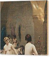 The Bathers Wood Print