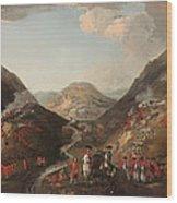 The Battle Of Glen Shiel 1719 Wood Print