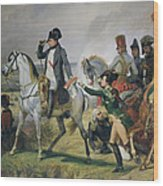 The Battle Of Wagram, 6th July 1809, 1836 Oil On Canvas Wood Print