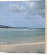 The Bay At Hayle Wood Print