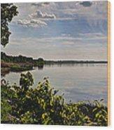 The Bay Of Green Bay Wood Print