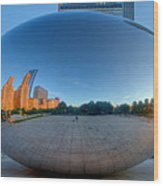 The Bean In Chicago Wood Print