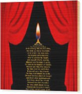 The Beatitudes Wood Print