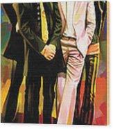 The Beatles Artwork 3 Wood Print