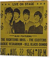 The Beatles First Time In Canada. Wood Print