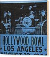 The Beatles Live At The Hollywood Bowl Wood Print
