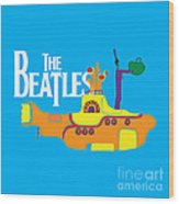 The Beatles No.11 Wood Print by Caio Caldas