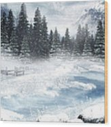 The Beautiful Gothic Winter Wood Print by Boon Mee