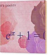The Beauty Equation Wood Print
