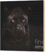 The Beauty Of Black Wood Print