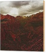 The Beauty Of Zion Natinal Park Wood Print