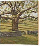 The Bedford Oak Summer Wood Print