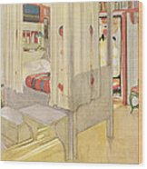 The Bedroom, Published In Lasst Licht Wood Print