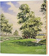 The Belfry Brabazon Golf Course 10th Hole Wood Print