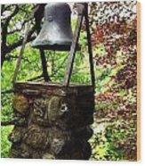 The Bell Tolls Wood Print