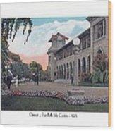 The Belle Isle Casino - Detroit - 1923 Wood Print