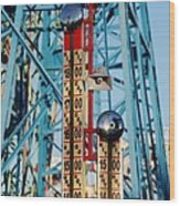 The Bells Of Coney Island Wood Print