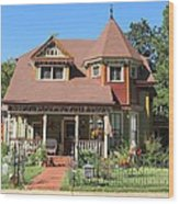 The Benefield House Jefferson Texas Wood Print
