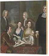 The Bermuda Group, Dean Berkeley And His Entourage, 1728 Wood Print