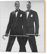 The Berry Brothers Dance Team Wood Print