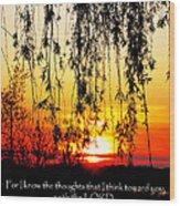The Bible Jeremiah Twentynine Wood Print