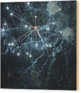 The Big Bang Wood Print