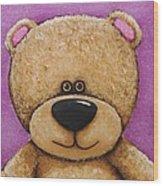 The Big Bear Wood Print