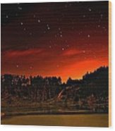 The Big Dipper Wood Print