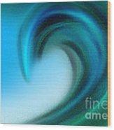 The Big Wave Of Hawaii 4 Wood Print
