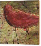 The Bird - 24a Wood Print