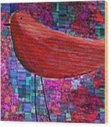 The Bird - S23a01bb Wood Print