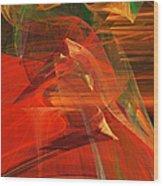 The Bird Whisperer . A120423.693 Wood Print